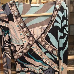 Emilio Pucci Tops - Emilio Pucci sz 6 paid $495 worn once